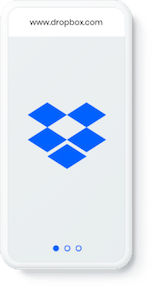 Dropbox phone screenshot